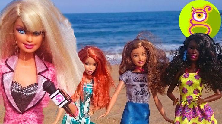 Barbie celosa de las Fashionistas 2016 tras el desfile de moda - juguete...