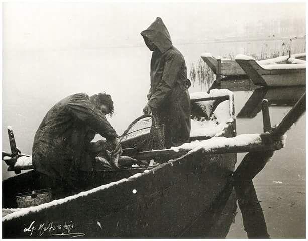 Καστοριά χειμώνας 1956 φωτ.Σπύρος Μελετζης