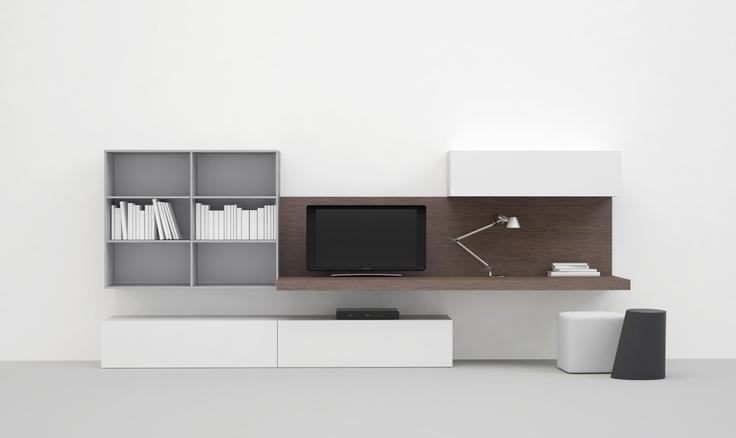 Jesse SPA - Mobili Arredamento Design - Prodotti - OPEN SISTEMA GIORNO - view 01 composizioni