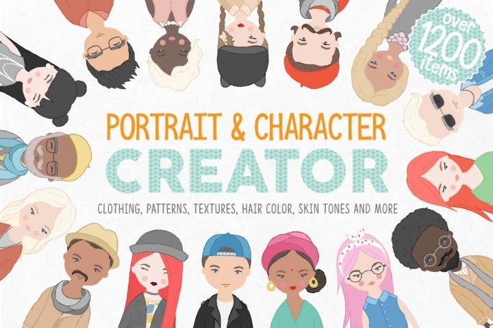 Portrait & Character Creator By Julia Dreams