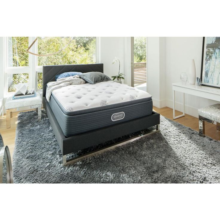 River View Harbor California King Luxury Firm Low Profile Mattress Set