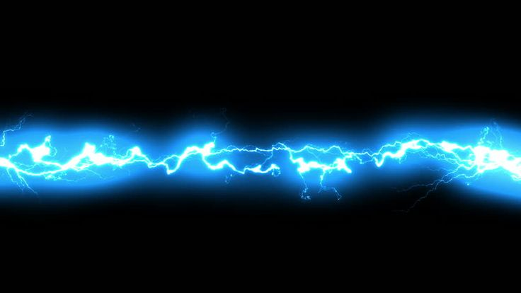 Lightning Sparks Effect - Black Background Stock Footage ...