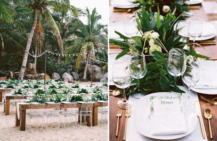 Modern Meets Tropical at this Destination Wedding in Sayulita, Mexico - Green Wedding Shoes