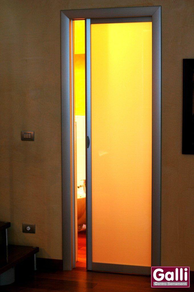 #Porta #Scorrevole #Interno #Muro #Alluminio e #Vetro #Rimadesio #Mentone #Menton | www.gallisrl.eu
