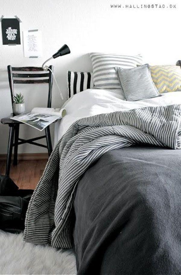 40 Comfortable and Comfy Scandinavian Bedroom Design Ideas : Scandinavian Bedroom Designs