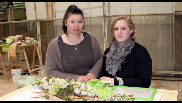Raismes : deux apprenties fleuristes primées au concours Clayrton's à Paris