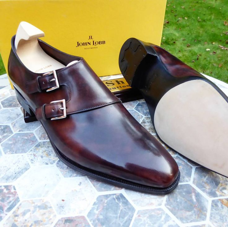 Ascot Shoes — Our last pair of the Daddy of all Doublemonks The...