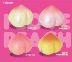 *i-BLOOM* Japan Jumbo Rare Scented Peach Squishy Slow Rising ~4 Colors~ On Sale