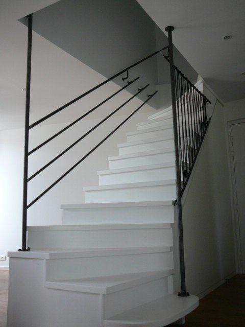rampe descalier  Escalier  Pinterest  Photos