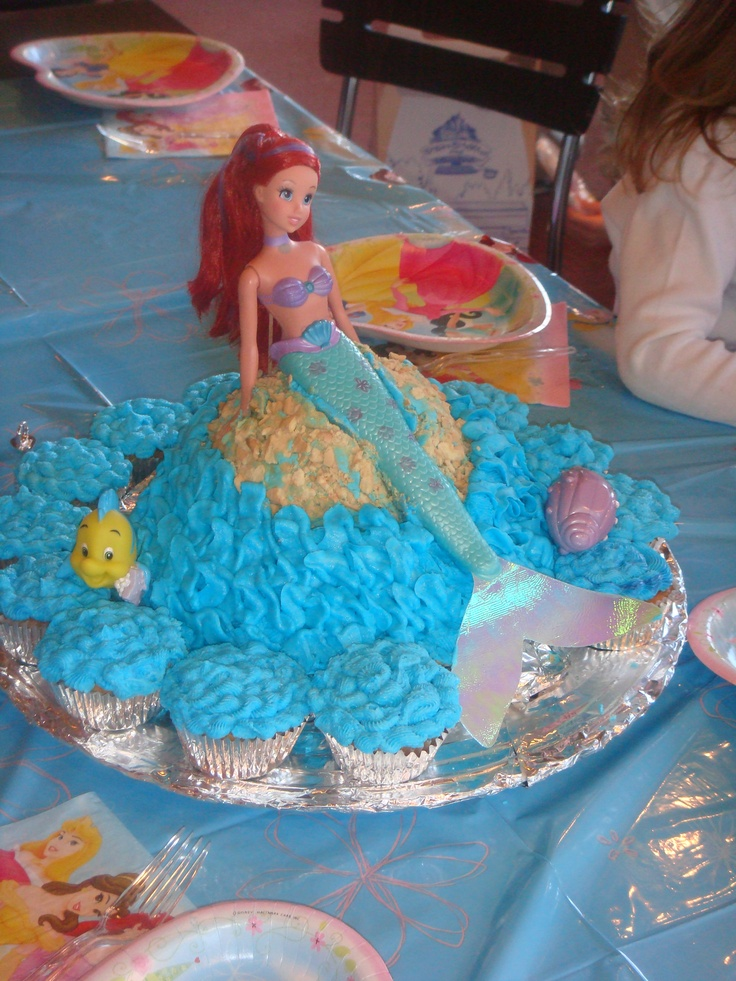 idea - Little Mermaid Ariel Cake