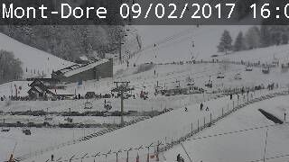 Webcam : Mont-Dore - Bas Station