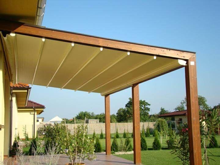 16 best pergotenda twin patio awning by corradi images - Pergolas de madera malaga ...