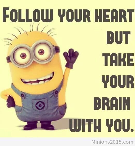Follow you heart quote from Minions
