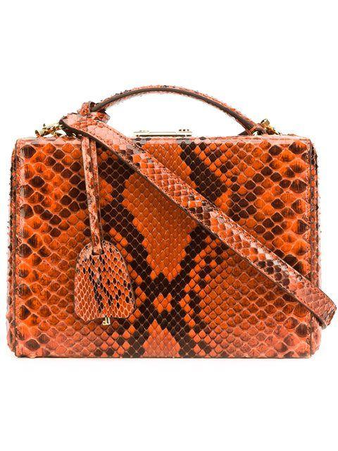 MARK CROSS Mini Box Tote. #markcross #bags #hand bags #tote #