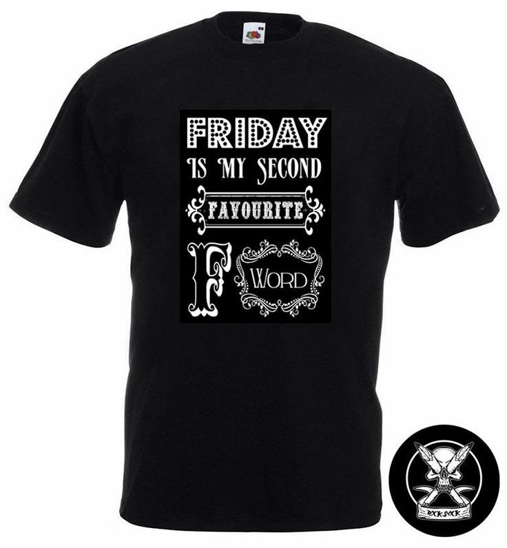 Friday Vintage T-Shirt Friday is my Favourite F Word Men TShirt Funny Humour F@ck Weekend Vintage Style in Clothes, Shoes & Accessories, Men's Clothing, T-Shirts | eBay! #friday #fridaytshirt #fuck #weekend #fword #party #vintagetshirt
