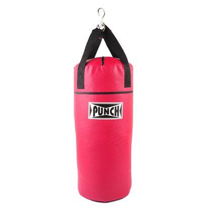 Saco de Pancadas Punch 90 cm no site netshoes por ll5 reais - Essencial para o aperfeiçoamento dos golpes durante os treinos de artes marciais, o Saco de Pancadas Punch 90 cm ajuda a aumentar a força, a coordenação e a resistência muscular.