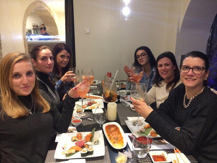 Maria João Caetano na Sushi Party de Sintra!