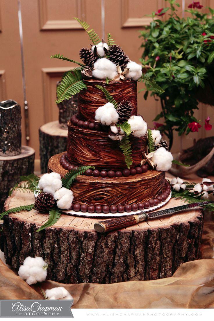 Love this grooms cake with cotton bolls  Alisa Chapman Photography  Pinterest  Cake Wedding