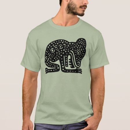 Mayan Black Jaguar Shaman T-Shirt - tap, personalize, buy right now!