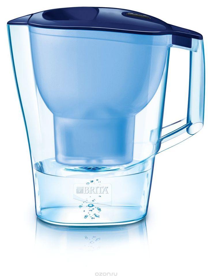 """Фильтр-кувшин для воды Brita """"Aluna XL"""", цвет: синий, 3,5 л"""