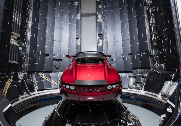 Elon Musk, Tesla, SpaceX, Falcon Heavy, SpaceX Falcon Heavy, Tesla Roadster, Roadster, Elon Musk send car to Mars, Elon Musk Falcon Heavy payload car, Elon Musk send his car to Mars, Tesla Roadster orbit Mars, Tesla Roadster in space, Tesla in space