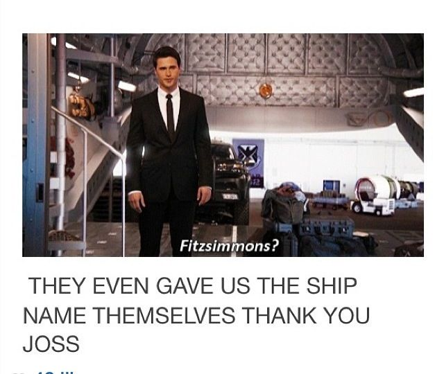 They even gave us the ship name