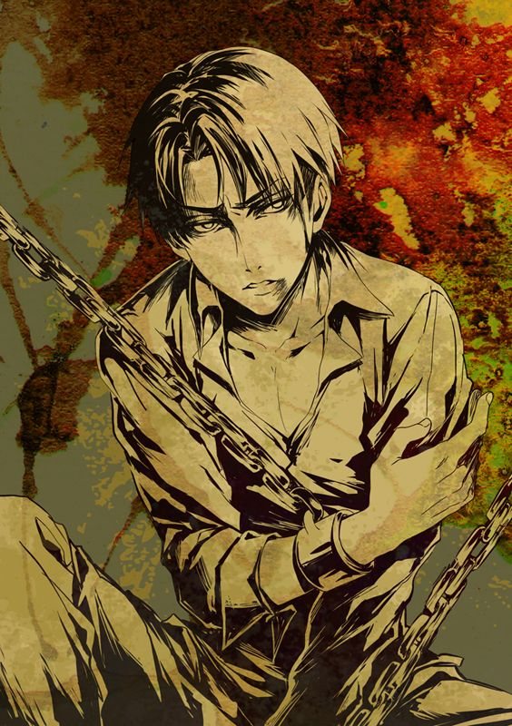 Levi Rivaille | Shingeki no Kyojin #anime