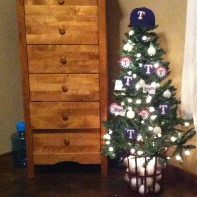 Texas Rangers tree