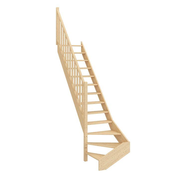 Destination:Intérieur                                                                                                                                                                                                                                                       Type d'escalier:Quart tournant bas gauche                                                                           ...