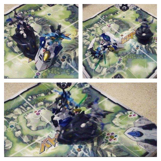 LBX Battle Arena, Icaros Force VS Val Sparos