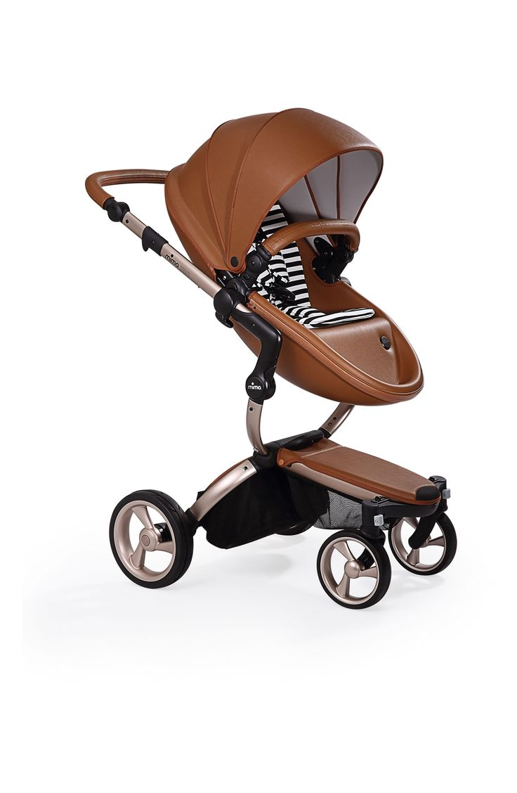 Infant Mima Xari Rose Gold Chassis Stroller With