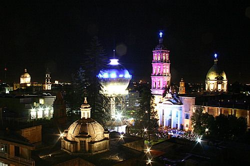 The beautiful place that saw me for the first time. Celaya Guanajuato Mexico. My born place.