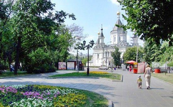 Сквер «Сквер Девичьего поля» — Moscow Russia