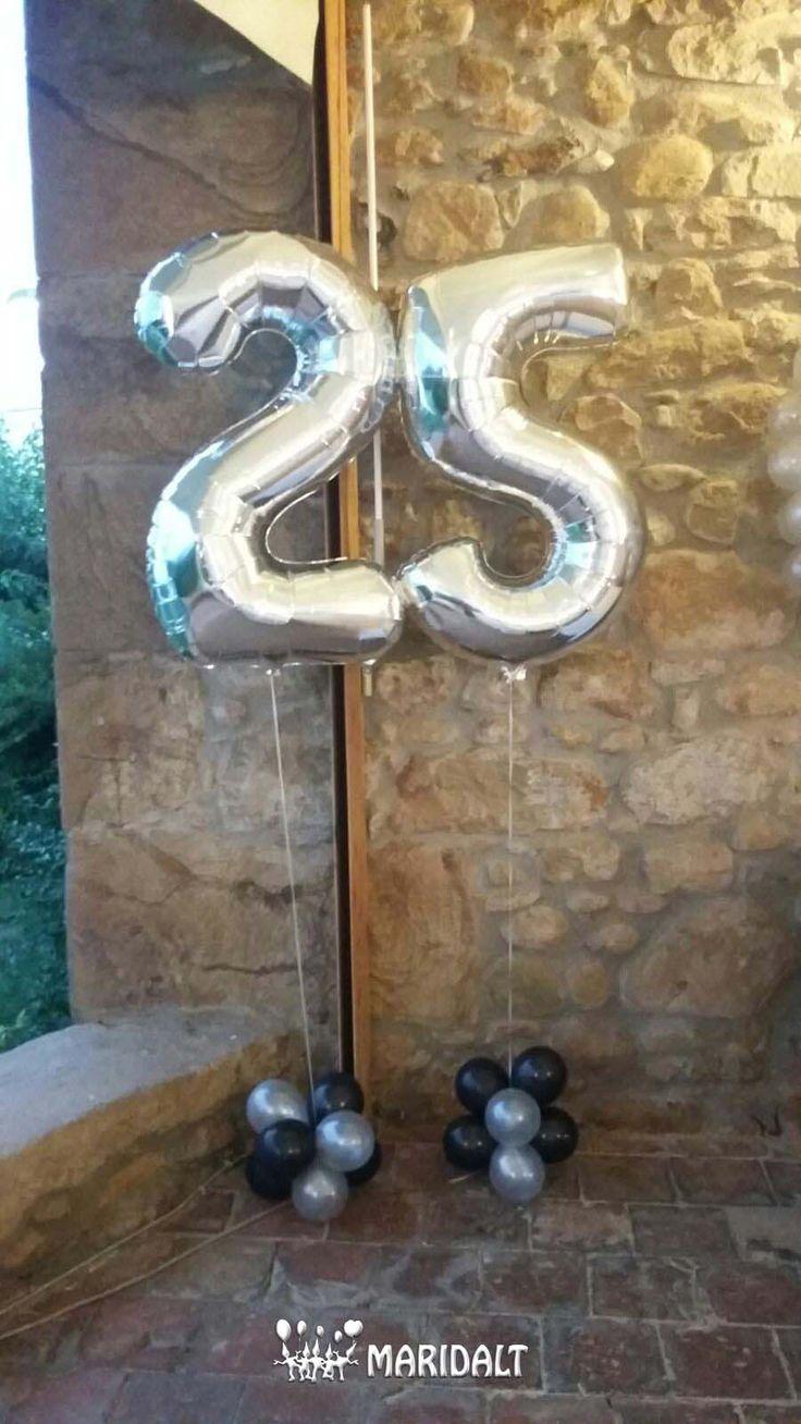¡Buenos días! Empezamos el día con las fotos de la decoración de una fiesta de 25 años de casados. ¡Muchas gracias por confiar en nosotros!