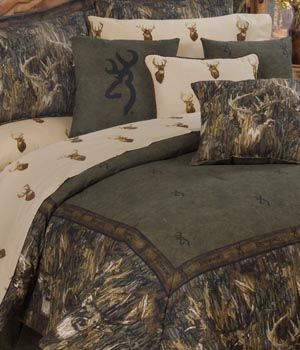 unusal linens | New Browning Whitetails Camo Bedding | Kimlor Mills New Camo Bedding ...