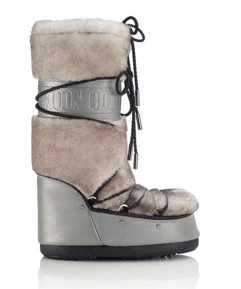See How Jimmy Choo is Giving Moon Boots a High-Fashion Upgrade from InStyle.com