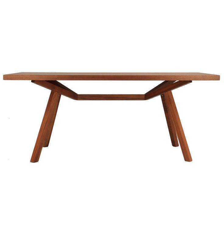 ORIGINAL Design Sean Dix Forte Timber Dining Table - Matt Blatt