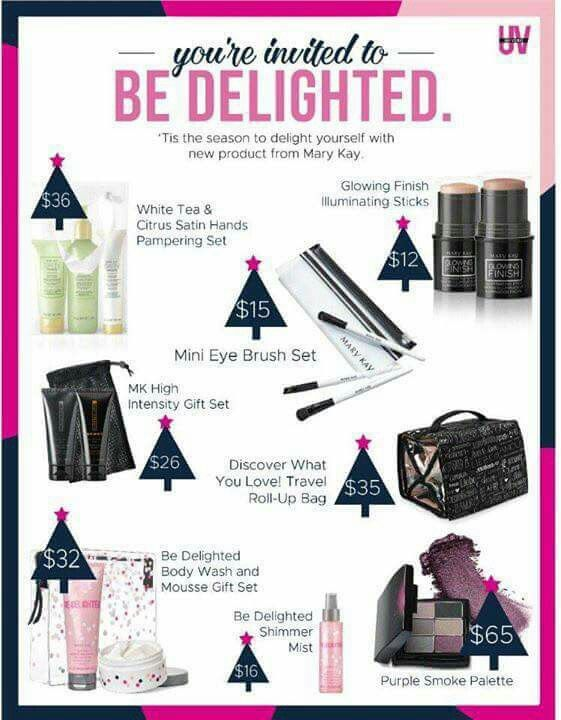 The New Mary Kay holiday products 2016. www.marykay.com/rjenks