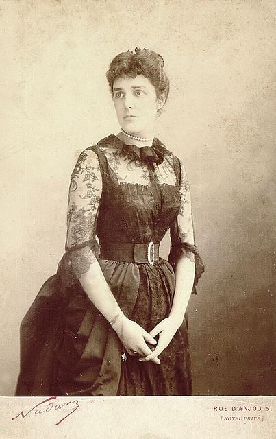 Lady Randolph Churchill, Jennie Churchill nee Jerome, Winston Churchill`s Mother, 1880's