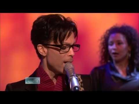 Prince - Crimson and Clover (live on The Ellen DeGeneres Show 2009) - YouTube #prince #2009