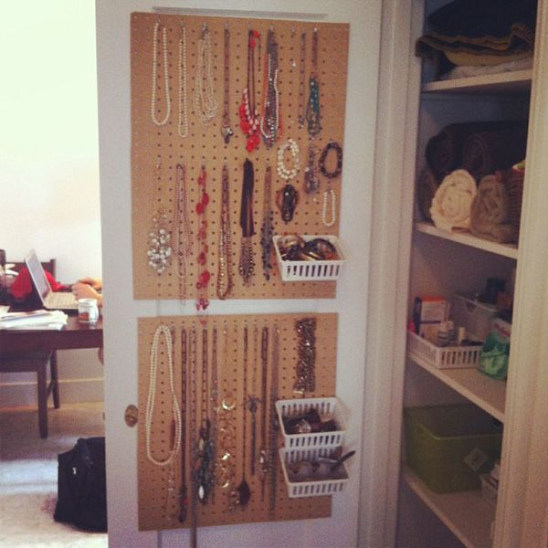 how to organize jewelry this one might work well but paint over the brown maybe bright green or a nicer brown