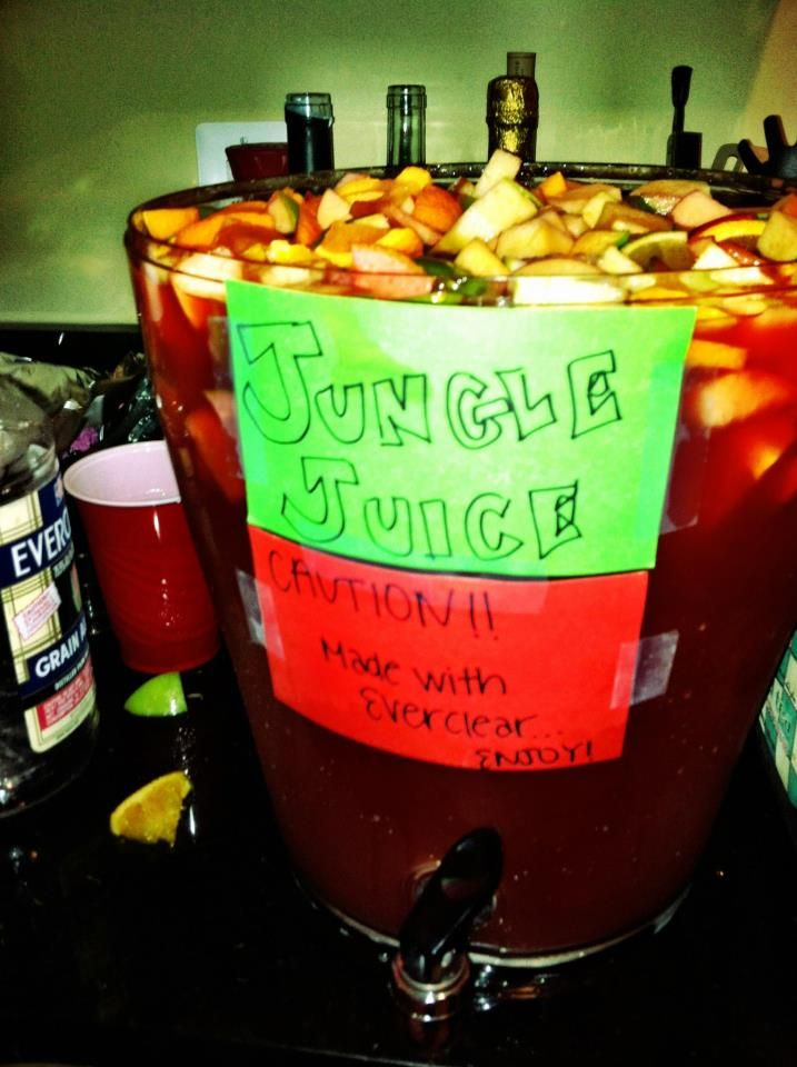 Image result for jungle juice