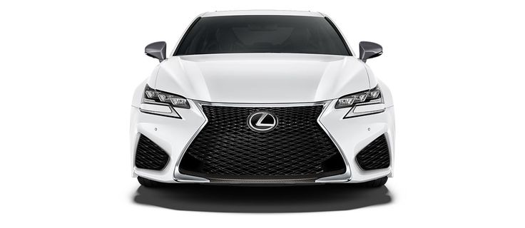 """2017 GS F   in Ultra White with 19-inch split-10-spoke forged alloy wheels<span class='tooltip-trigger disclaimer' data-disclaimers='[{""""code"""":""""TIREWEAR5"""",""""isTerms"""":false,""""body"""":""""19-in performance tires are expected to experience greater tire wear than conventional tires.  Tire life may be substantially less than 15,000 miles, depending upon driving conditions.""""}]'><span class='asterisk'>*</span></span>, angle 2"""
