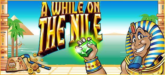 """La splendida #slot maschine """"A while on the Nile"""", presente in Euromania #Casino . Ecco una recensione di questa sala: http://bit.ly/1o1VNUL"""