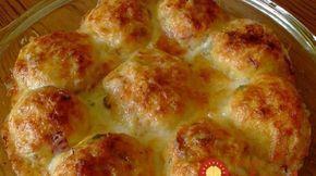 Šunkovo-syrové gule zo zemiakového cesta: Lacná a neopísateľne chutná večera z bežných surovín!