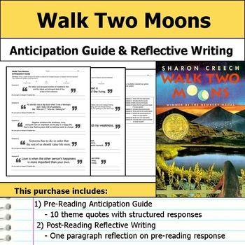 Walk two moons essay