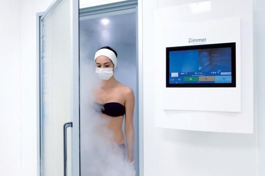 Deans' stroke musings: Hot Spot: Cryotherapy at the Thermes Marins-Monte Carlo Spa