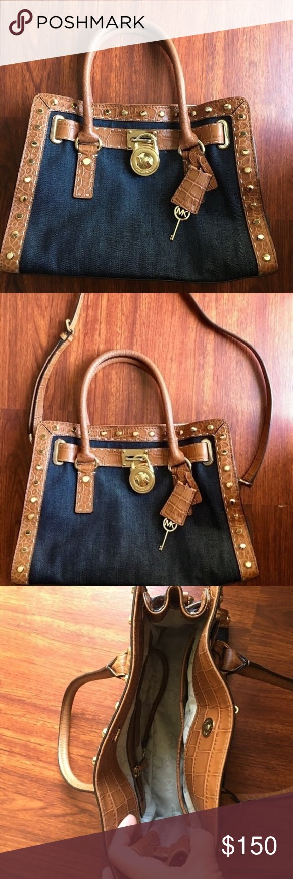 Michael Kors Hamilton In good condition Michael Kors Hamilton includes the strap. Michael Kors Bags Crossbody Bags