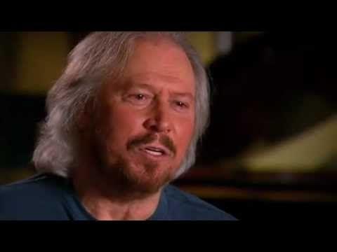 Barry Gibb on Sunday Night Show (22 Sept.2012) - part 2 - YouTube