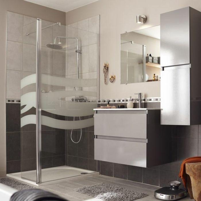 Douche l 39 italienne adaptable tous les styles de salles de bains d co maison salle de - Deco italienne maison ...